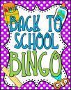 Back to School Bingo product from Barnard-Island on TeachersNotebook.com