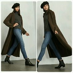 Reformation Brown Brunswick Long Wool Duster Coat New Listing  Brown Reformation Brunswick Oversized Light Weight Long Wool Duster Coat With One Button. Comes with tags attached & in garment bag  This coat is amazing and I'm only considering selling because my body frame is a little too small for a size medium coat so I'd like to make my money back so I can purchase a smaller size so price is firm         No Trades Price Firm ✈✈Ships Same Or Next Day✈✈ Reformation Jackets & Coats