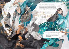 "veensa: ""My illustrations for Valaquenta ( The Silmarillion ) "" Hobbit, Character Art, Character Design, Children's Book Illustration, Storyboard, Book Design, Art Reference, Book Art, Fantasy Art"
