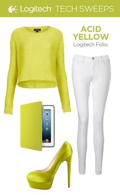 Neon with a punk twist! Acid Yellow lets you rock color with a more demure approach. For a chic summer time look, dust off your favorite white jeans, neon sweater, and bright pumps for a look that will have heads turning.