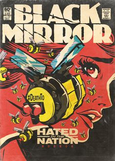 Butcher Billy's Dark Tales From The Black Mirror on Behance