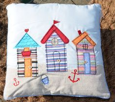 What a cute pillow for a kids room or play room.