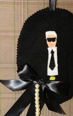 Karl Lagerfield for #Chanel in Felt