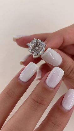 Pretty Engagement Rings, Timeless Engagement Ring, Engagement Ring Cuts, Diamond Wedding Bands, Diamond Rings, Classic Wedding Rings, Promise Rings For Couples, Nagel Gel, Brilliant Diamond
