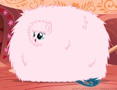 Extra fluffy fluffle puff
