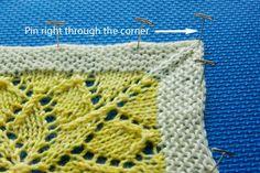 Vivid Blanket Tutorial | Tin Can Knits