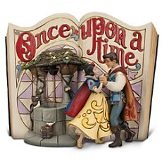 Snow White Story Book Figurine by Jim Shore