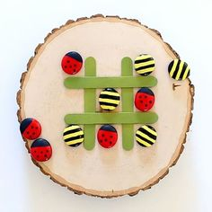 WellieWishers DIY Tic Tac Toe Party Favor, Inspired by WellieWishers Garden Party Table and Chairs
