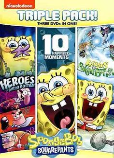 SpongeBob SquarePants: 10 Happiest Moments/Heroes Of Bikini Bottom/Legends Of Bikini Bottom