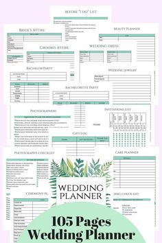 Wedding planner printable wedding planner book printable planning wedding planner diy wedding planner pages printable wedding solutioingenieria Image collections