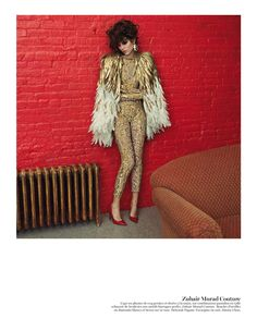 couture: freja beha erichsen by inez & vinoodh for vogue paris may 2013 | visual optimism; fashion editorials, shows, campaigns & more!