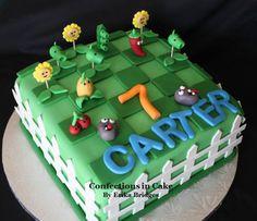 Plants vs. Zombie's Cake