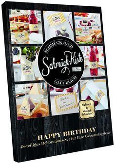 "Schmück-Kisten : Schmück-Kiste ""Happy Birthday"" | | Decorize"
