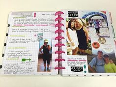 I'm not only using my fitness planner as a way to track my food and exercise but as a motivational tool. I'm a visual learner. I need to write my goals down on paper, to see my progress in photos and to journal about what works and what doesn't. Journaling is an important step on my road to better fitness, health and vitality. I just started my fitness planner today and my first pages are a look back at the success I had last year. I took the time to look back proudly at my accomplishments…
