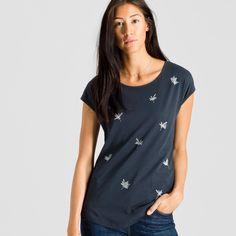Scarlett Little Cornflower T-Shirt Print | ARMEDANGELS