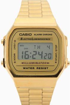 A-168WGA-9  A-168WGA-9 6264 インスタグラムなどのSNSを中心に人気を集める チプカシと呼ばれるCASIOの腕時計が入荷致しました!! レトロな雰囲気のデジタル表記時計で 男女問わずお使いいただけます スタイリングのアクセントにもなり アクセサリー感覚で使えることもあり大人気 デザイン性もバッチリでスタイリッシュに使えるます!! 春夏のスタイリングのアクセントに是非おススメです 生活防水クォーツ 保証書について 保証書は購入明細書納品書と合せて保管していただきますようお願いします 修理の際は保証書と購入明細書納品書を合わせてご提出ください