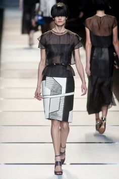 25 Amazing Fashion Trends 2014 (Fendi Spring 2014 RTW)