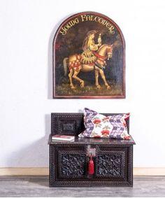 Banco Arcón Antiguo Renacimiento  #baul #arcon #renacimiento #recibidor #muebleantiguo #bancodemadera Decorative Boxes, Home Decor, Solid Wood, Antique Chest, Antique Wood, Wood Benches, Antique Furniture, Decoration Home, Room Decor