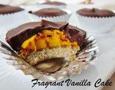 Raw Chocolate Pumpkin Pie Cups from Fragrant Vanilla Cake