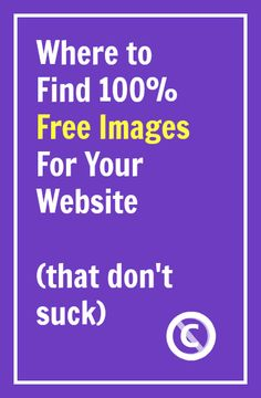 Where to Find 100% Free Images For Your Website | Liz Liockard #blogging
