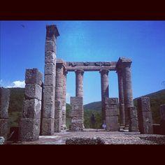 Ecco un'immagine del glorioso Tempio di Antas. Qui attorno si respira un'aria di sacralità e mito. taken by @igers_sardegna #webstagram
