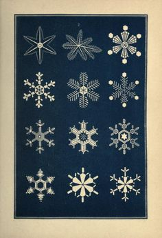 Snowflakes: a chapter from the book of nature
