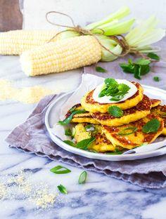 Cachapas pancakes