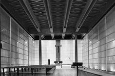 Mangiarotti - Morassuti Chiesa Mater Misericordiae, Baranzate (Milan). (1957)