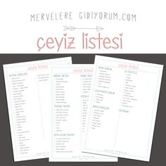 ÇEYİZ LİSTESİ - evlilik hazırlığı yapanlar için çeyiz listesi merveleregidiyorum.com http://merveleregidiyorum.com/2015/06/evlilik-hazirligi-yapanlar-icin-ceyiz-listesi/