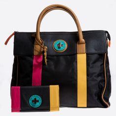 Benetton Bags Joan Large Key Wallet Black