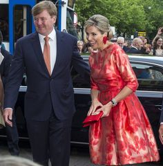 King Willem-Alexander and Queen Maxima of The Netherlands attends the opening of Holland Festival on June 4 2016 in Amsterdam