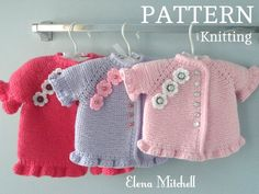 9af095166a7e 20 Best Knitting Pattern Baby Cardigan images in 2019