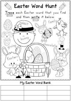 first grade easter worksheets Free Easter Worksheets For