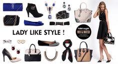 Mix & Match | Lady Like Style! | http://fullahsugah.gr/ #MixAndMatch #FullahSugah