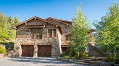 Big Creek Lodge | Custom Montana & Wyoming Homes | On Site Management | OSM http://www.onsitemanagement.com/