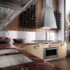 Kitchen, Fabulous Modern Italian Kitchen Designs Ideas: Contemporary Italian Kitchen Decorating With Extra