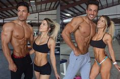 #fit as #fuck Christian Guzman & Nikki Blackketter ♥