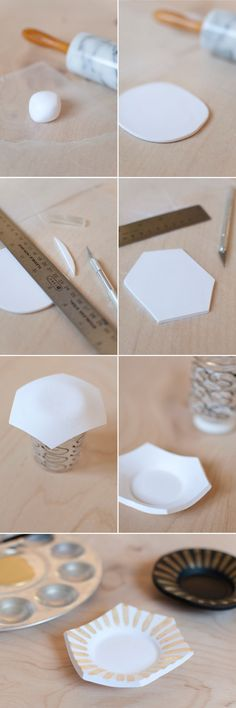 DIY Trinket Dish by Retro Menagerie