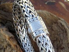 Shining Knight Silver Bali Bracelet