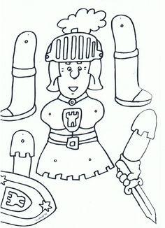 mobile de chevaliers en armure