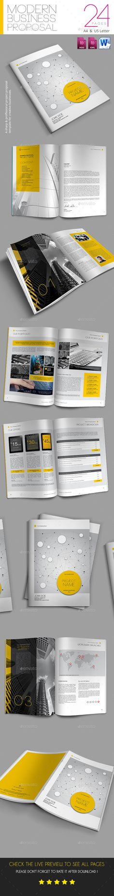Proposal @creativework247 Brochure Design - Brochure layout