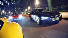 BMW i8 vs Jag F-Type vs Porsche 911 - BBC Top Gear