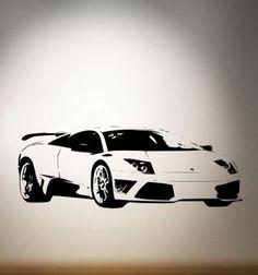The spotlight is on the Lamborghini! #WhiteoutWednesday Hit the link for more awesome #supercar art! http://www.ebay.com/itm/LAMBORGHINI-MURCIELAGO-Sports-Car-Wall-Sticker-mural-Decal-wall-art-/110867924295?pt=UK_Wallpaper&var=410106943372&hash=item19d03e4547?roken2=ta.p3hwzkq71.bdream-cars