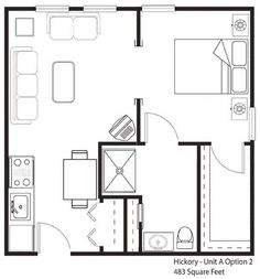 26 Best Images About 400 Sq Ft Floorplan On Pinterest One Bedroom Lotus And