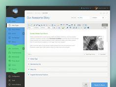 CMS Concept #webdesign