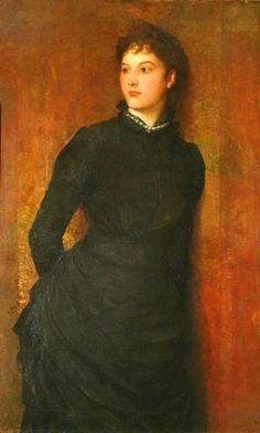 Rachel Gurney  By  George Frederic Watts (1817–1904)