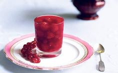 Seasonal recipes: Raspberry, redcurrant and rose jellies