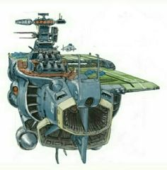 Space-fightercraft Carrier.
