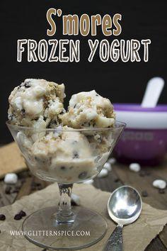S'mores Frozen Yogurt Recipe