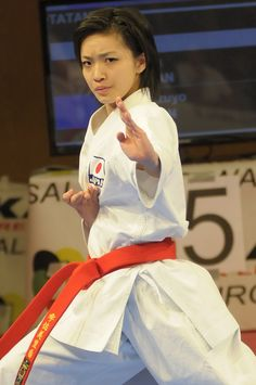 Japan Kata Champion, Rika Usami....beautifulest mastery of form....I love her!
